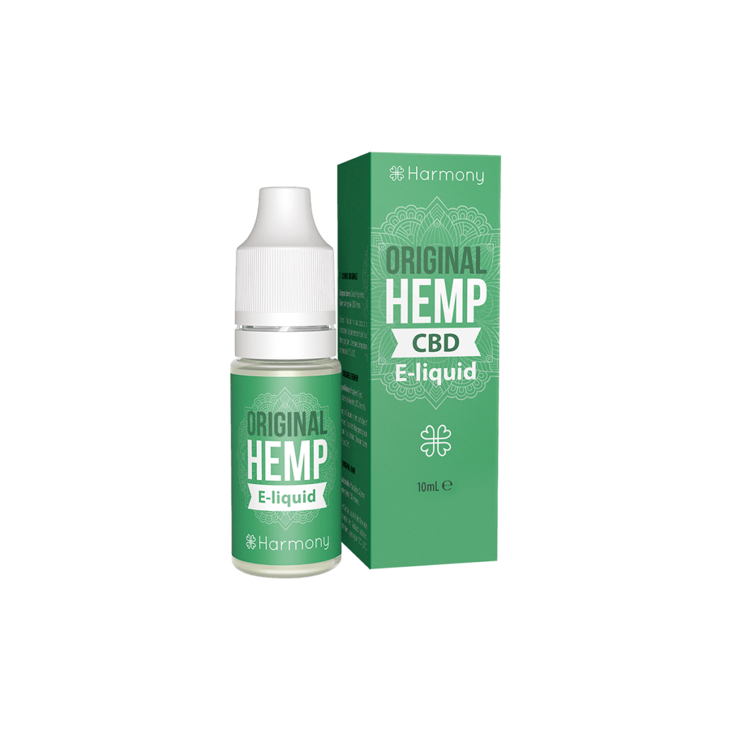 HARMONY CBD E-Liquid <br> Original Hemp