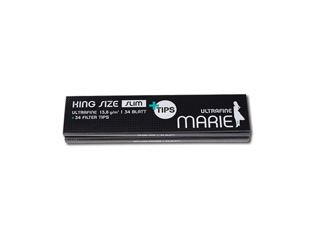 Marie Paper King Size <br> Slim Ultrafine <br> inkl. Filter Tips