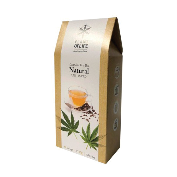 INFUSION CBD TEA NATURAL <br> PLANT OF LIFE