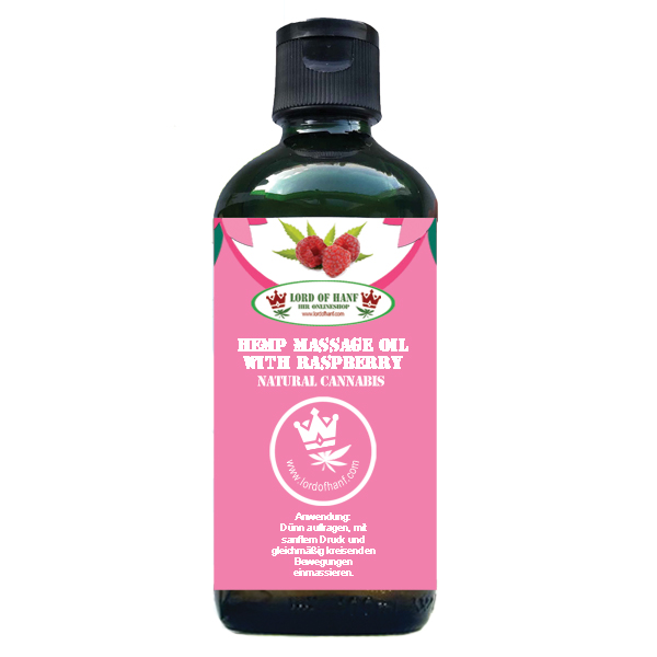 LORD OF HANF <br> Rasberry massage oil