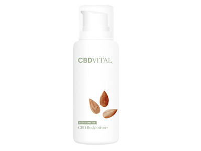 CBD VITAL <br> CBD Bodylotion plus