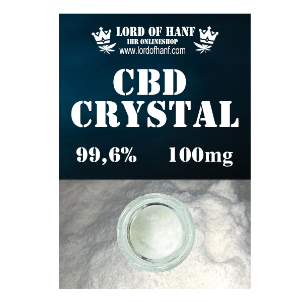 Lord of Hanf  <br> CBD Kristalle 100mg <br>  (0,1g)